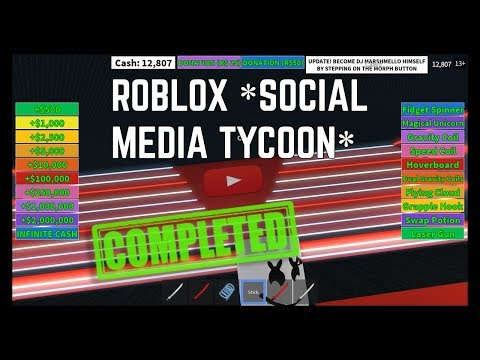 ROBLOX *Social Media Tycoon* (Youtube)