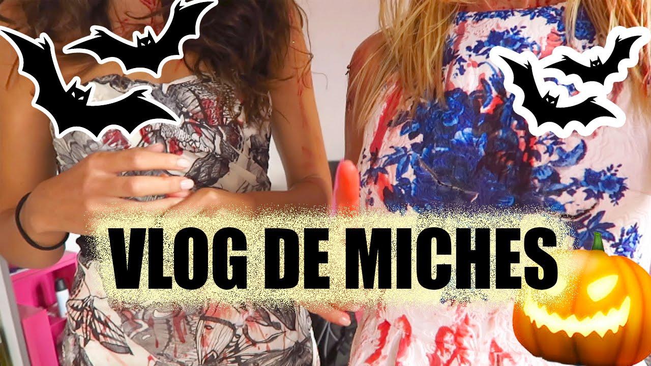 Vlog de MICHES - Tournage Halloween