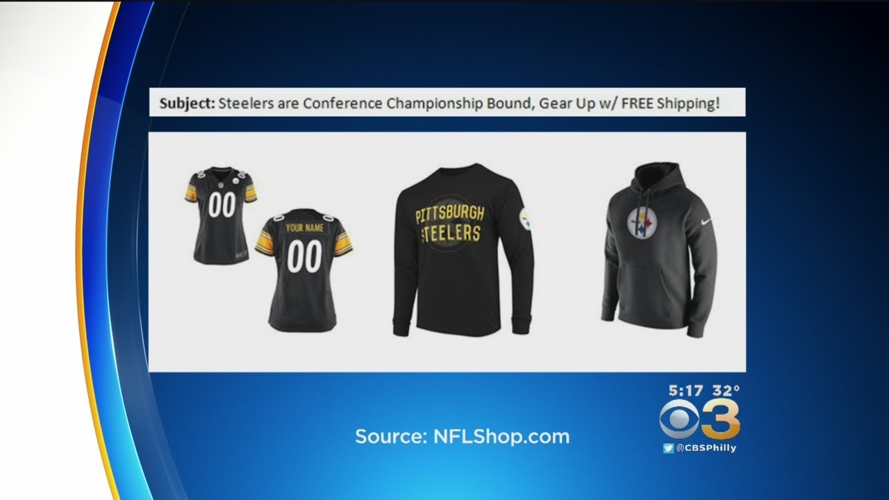 Frustrated Steelers Fans Receive  Championship Conference Bound  Gear Email  From NFL Shop After Loss f2a2ad5fd