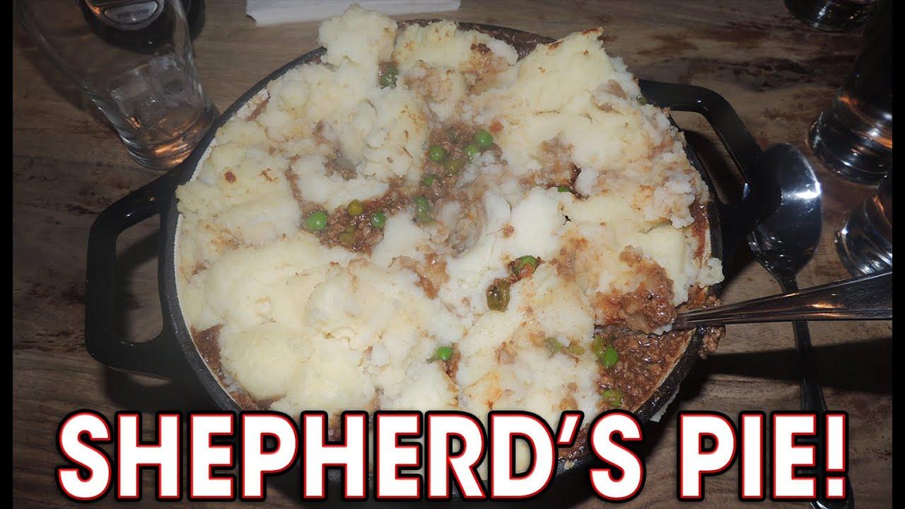 MASSIVE SHEPHERD'S PIE EATING CHALLENGE!! - YouTube