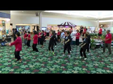 World Tai Chi Day 2014 Kahala Mall everydaytaichi lucy chun Honolulu, Hawaii
