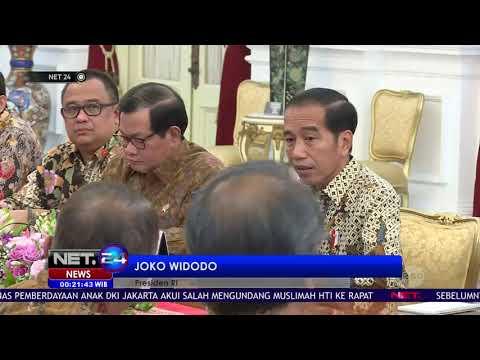 Presiden Jokowi Kesal Nilai Ekspor dan Investasi RI Kecil - NET24