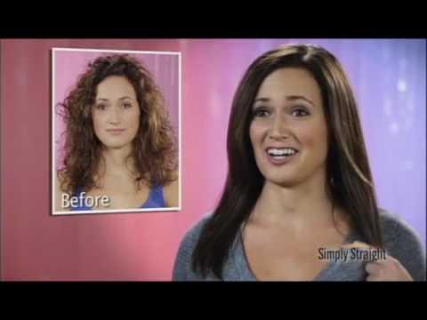 Simply Straight Hair Straightening Brush