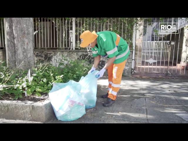 Jones Canuto em: separando para reciclar #ComlurbNãoPara