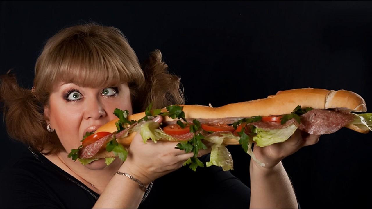 толстухи с едой фото отбросил