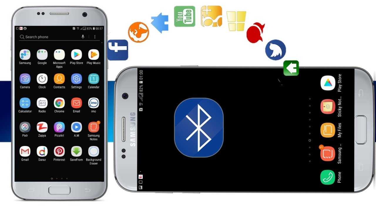 How to Transfer Apps between Android Phones via Bluetooth ...
