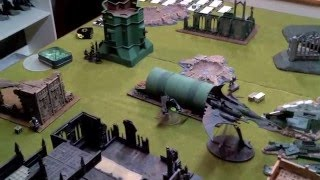NEW Dark Eldar vs Eldar 7th Warhammer 40k Battle Report 1500pts