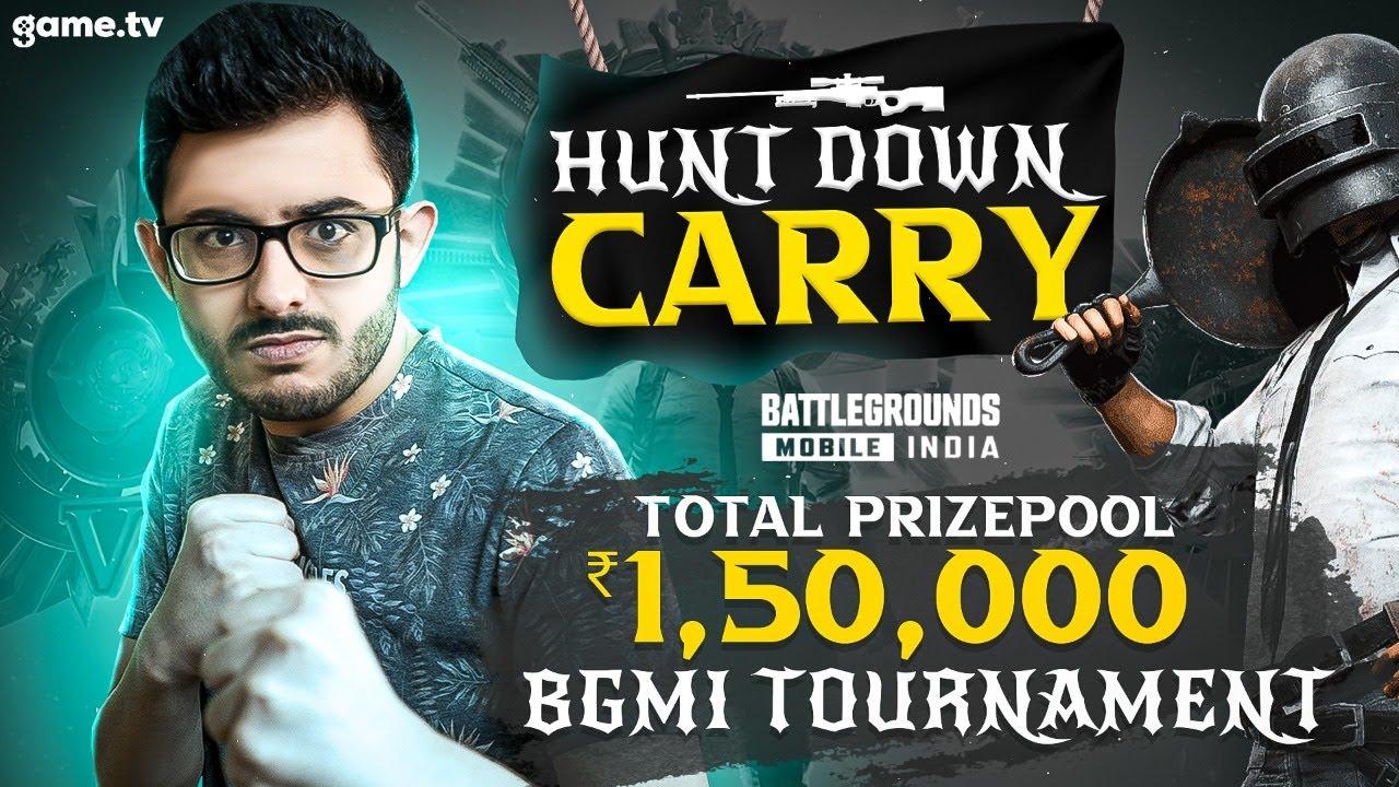 HUNT ME TO WIN PRIZES! - BGMI TOURNAMENT | GAME.TV