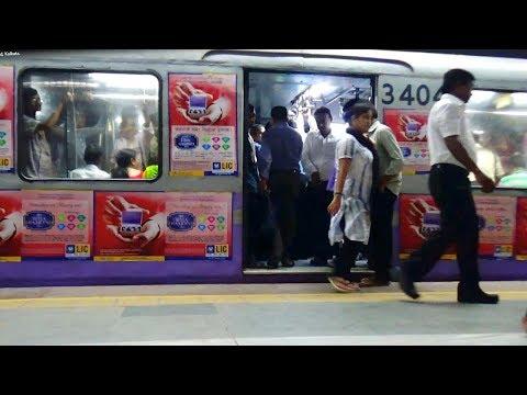 (Full Hd) New Metro Rail of Indian Railway Captured from Esplanade, Kolkata thumbnail