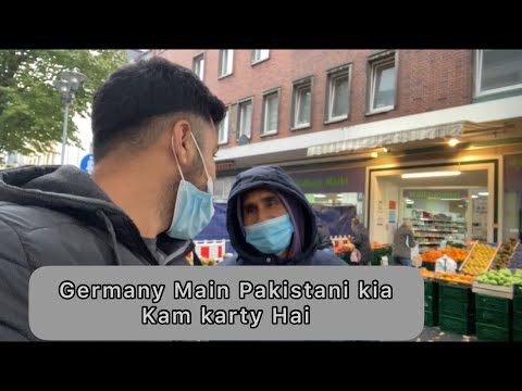 WEEKLY MARKET IN GERMANY || PASHTON VLOGER IN EUROPE || Mubee AfriDi Official