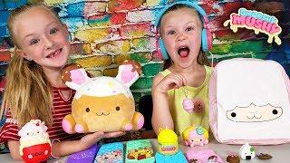 Opening Giant Smooshy Mushy Toys Surprise Mystery Box!!