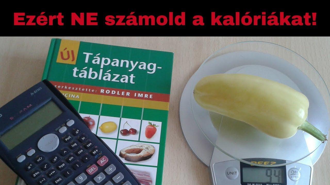 kalóriaszámlálással fogyni)
