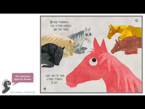 Kinderbuch-App mit Mini-Spielen 🐎 Lars and Friends 🐎 Kinder App-Vorschau & Gameplay