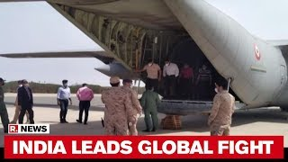 India's Rapid Response Team Arrives In Kuwait To Help In COVID-19 Battle