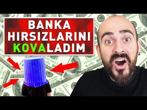 BANKA HIRSIZLARINI ÇÖP KOVASIYLA TROLLEDİM !
