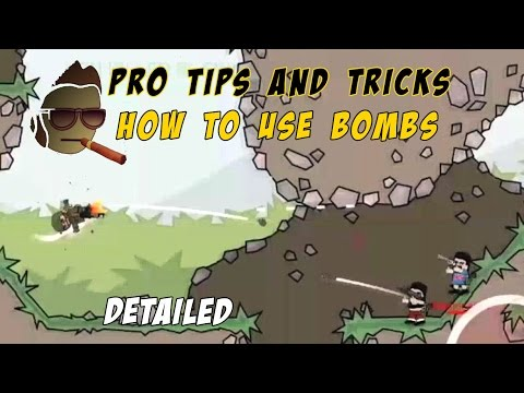 How To Use Bombs | Pro Tips & Tricks :: Mini Militia