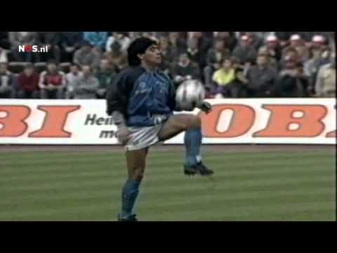 Warm-Up Maradona UEFA-Cup semi-final 1989 HD