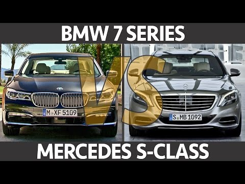 ► 2016 BMW 7 Series VS Mercedes S-Class – What's your choice?
