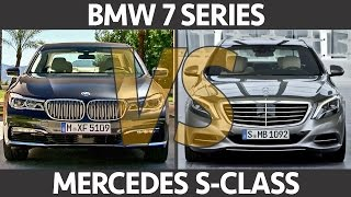 ► 2016 BMW 7 Series VS Mercedes S-Class - What