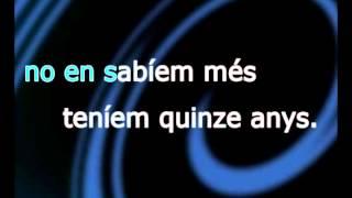 Joan Manuel Serrat - Paraules d'amor (Karaoke)