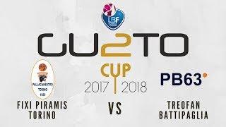 Fixi Piramis Torino vs Treofan Battipaglia