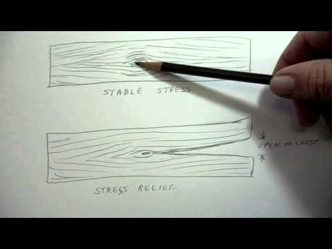 Wood Selection & Characteristics- Expansion With Moisture