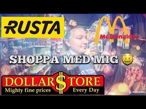 DOLLAR STORE , RUSTA, MCDONALDS & Svar på tal!