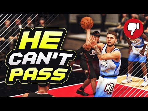 2K Gave The BEST PASSER In The NBA TERRIBLE PASSING Stats In NBA 2K19 MyTEAM!!