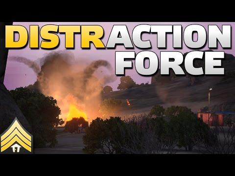 Distraction Force - Arma 3 Guerrilla Invasion
