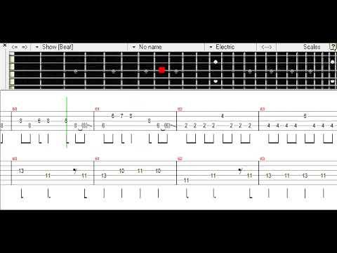 Koi Yuki - Silent Siren Bass TAB