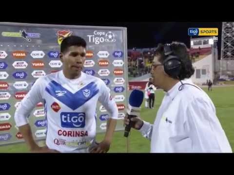 San Jose 3 - 2 Bolivar, la Figura Cuellar y el debut del orureño Jesus Careaga