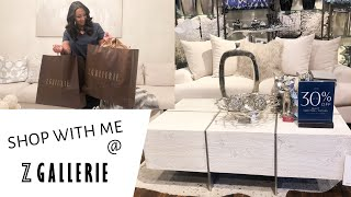 SHOP WITH ME HOME DECOR | ZGALLERIE HAUL | WHATS FOR DINNER? |
