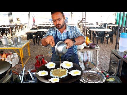 Most Hygenic Roadside Delicious Egg Dish | Egg Bhul bhulaiya | Egg Street Food | Indian Street Food