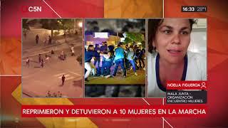 Represión en el Encuentro Nacional de Mujeres en Trelew