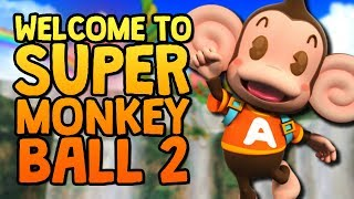 WELCOME TO SUPER MONKEY BALL 2
