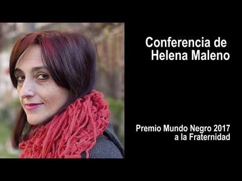 Conferencia de Helena Maleno - Premio Mundo Negro 2017