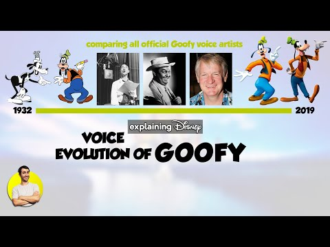 Voice Evolution Of Goofy Over 87 Years 1932 2019 Compared Explained Youtube