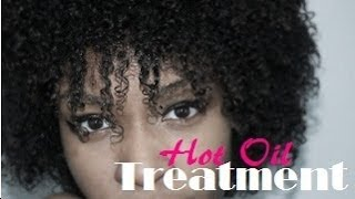 Dry Natural Hair Hot Oil Treatment- Jamaican Black Castor Oil