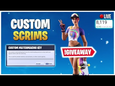 🔴(EU)Custom Matchmaking Solo/Duos/Squad 3rd zone Scrims Fortnite Live WIN=SHOUTOUT. from YouTube · Duration:  2 hours 30 minutes 26 seconds