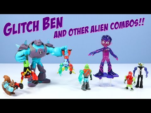 Ben10 Reboot Glitch Ben Omni Enhanced Shock Rock More Alien Creation