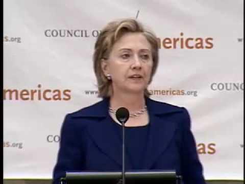 Council of the Americas: Secretary Clinton