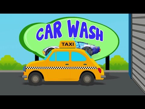 Taxi Car Wash | Taxi For Kids