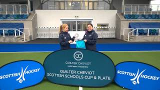 Quilter Cheviot Scottish Schools Open Cup & Plate competition draw