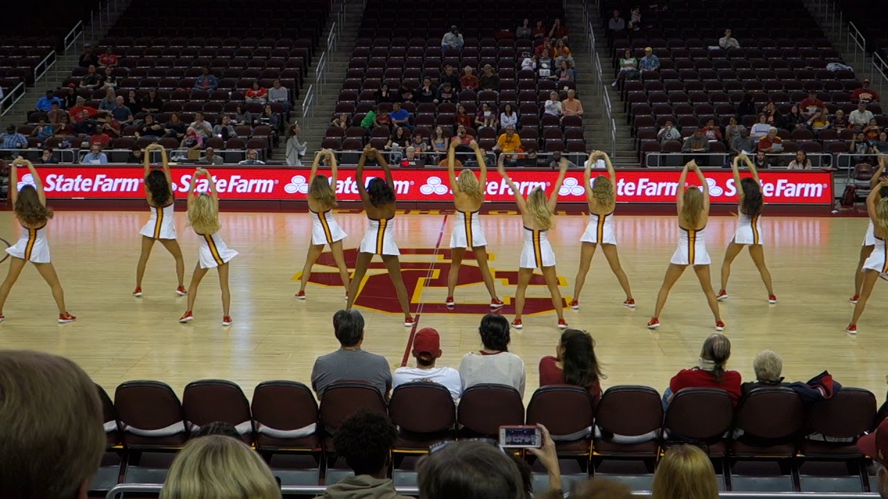 Trojancandy the usc song girls perform at the womens trojancandy the usc song girls perform at the womens basketball game vs cal sciox Image collections
