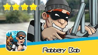 Robbery Bob HIGH RISE Level 15 Walkthrough Prison Bob Recommend index four stars