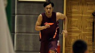 【2013-14 CBA體能測驗Day2 - 折返跑】廣廈男籃體能測試 林志傑折返跑輕鬆通過