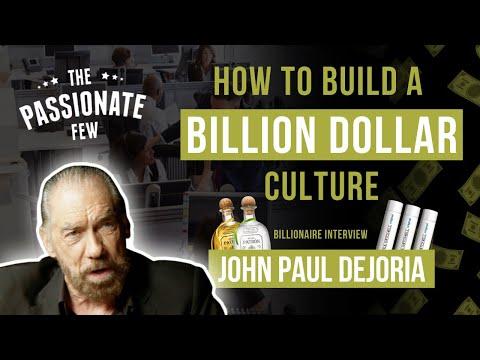 MOGUL ADVICE: How To Build A Billion Dollar Culture In Your Business! 💰 (John Paul Dejoria)