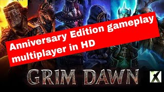 Titan Quest Anniversary Edition gameplay - multiplayer in HD