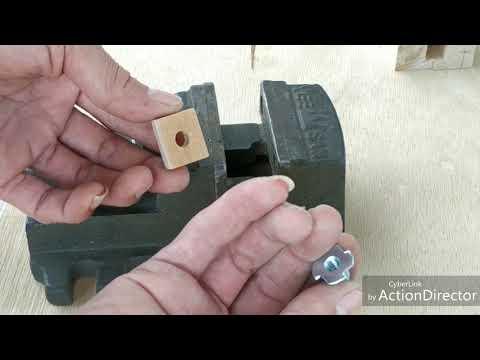 木工鑽孔定位器diy
