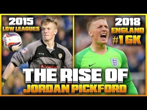 How JORDAN PICKFORD Became A NATIONAL HERO At The World Cup | The INSPIRING Story Of ENGLANDS NEW #1